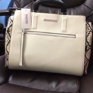 Reaction Kenneth Cole Tailored Tote w/strap&handle